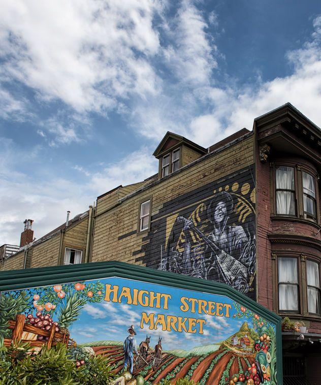 Γκραφίτι με τον Jimi Hendrix στο San Francisco