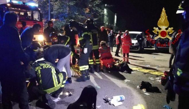 Πανικός σε ντίσκο: Έξι νεκροί και δεκάδες τραυματίες μετά από σκόνη κνησμού