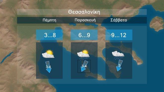 Νοτιάδες και πολλές βροχές προς το τέλος της εβδομάδος