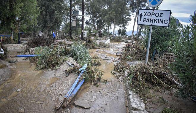 Καταστροφές από την κακοκαιρία στον Δήμο Άργους - Μυκηνών