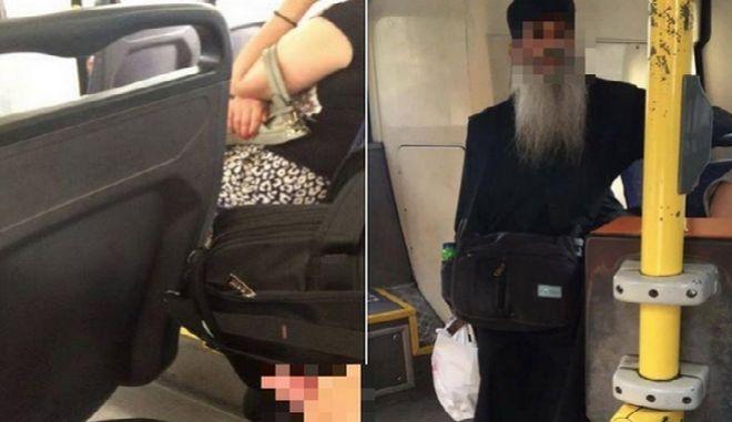 Δικογραφία για για τον 'ρασοφόρο' που παρενοχλούσε γυναίκες σε λεωφορεία