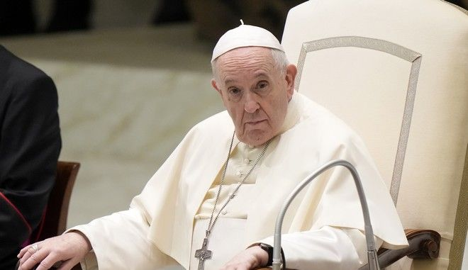 Ο πάπας Φραγκίσκος στο Βατικανό