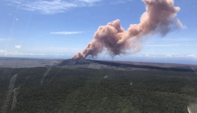 Tο ηφαίστειο Κιλαουέα στην Χαβάη