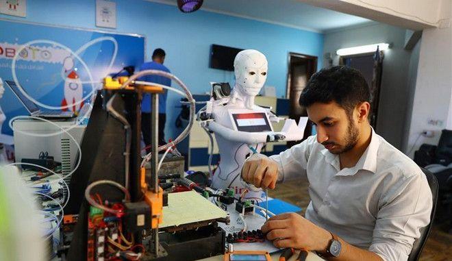 Αίγυπτος: Ρομπότ-''νοσηλευτής'' για ασθενείς με κορονοϊό