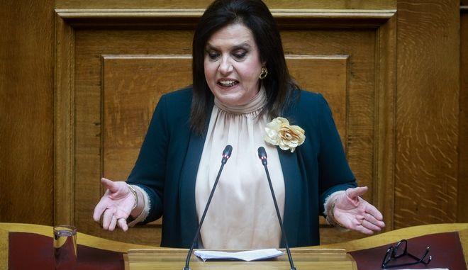 Η βουλευτίνα του ΣΥΡΙΖΑ, Θεοδώρα Μεγαλοοικονόμου
