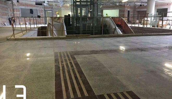 Μέσα στον πιο προχωρημένο σταθμό του Μετρό στην Θεσσαλονίκη