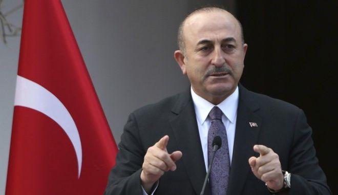 Ο υπουργός Εξωτερικών της Τουρκίας Μεβλούτ Τσαβούσογλου