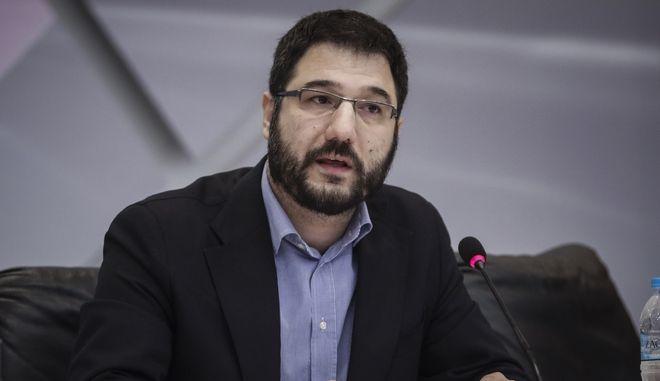 Ο Νάσος Ηλιόπουλος