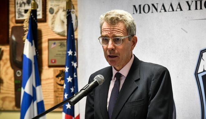 Ο Αμερικανός πρέσβης στην Αθήνα, Τζέφρι Πάιατ.