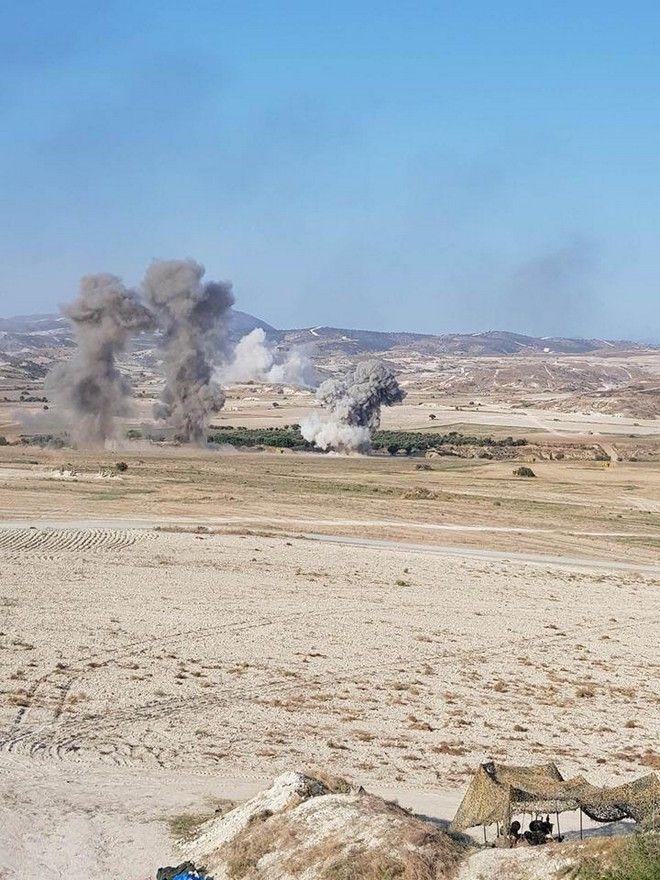 Κύπρος: Μεγάλη άσκηση της Εθνικής Φρουράς παρουσία ελληνικών F-16