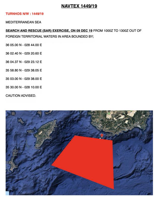Πώς η Τουρκία μεταφέρει την πίεση στον θαλάσσιο