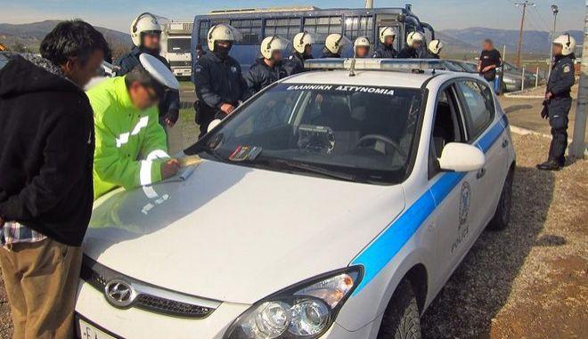 Θήβα: Αστυνομική έφοδος στον καταυλισμό Ρομά για εξάρθρωση σπείρας ληστών