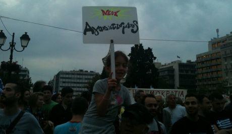 ''Αγανακτισμένοι'' για 10η ημέρα και συνεχίζουν