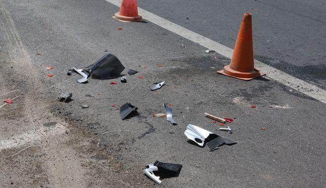 Τροχαίο ατύχημα (φωτογραφία αρχείου)