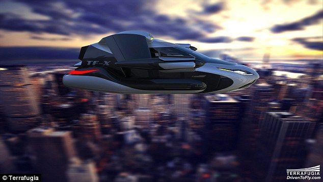 Βίντεο: H Terrafugia αποκαλύπτει το νέο ιπτάμενο αυτοκίνητο