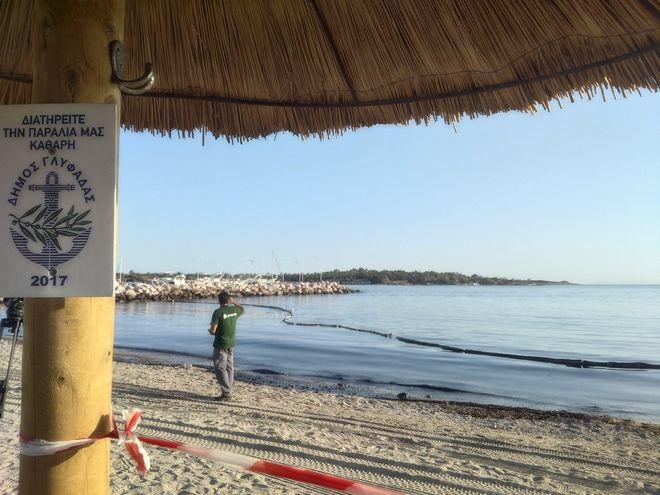 Ρύπανση στον Σαρωνικό: Σε ένα χρόνο η πλήρης αποκατάσταση στην παραλιακή