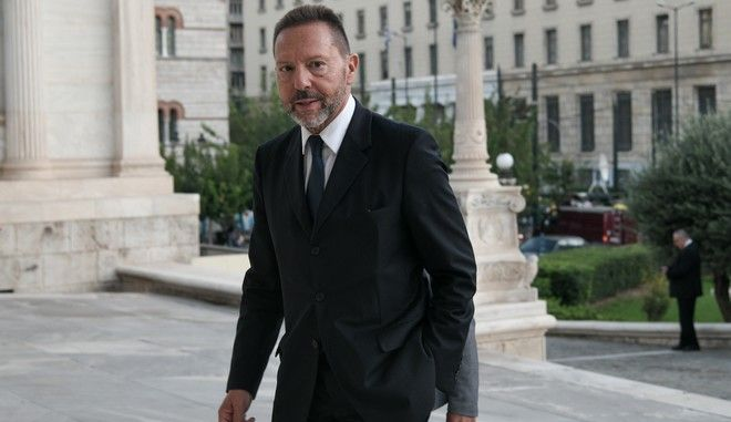 Ο διοικητής της τράπεζας της Ελλάδας Γιάννης Στουρνάρας