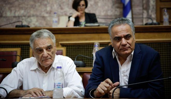 Στιγμιότυπο από την συζητηση στην επιτροπή δημόσιας διοικησης της βουλής του Σ/Ν του υπουργείου εσωτερικών για την τοπική αυτοδιοίκηση ΚΛΕΙΣΘΕΝΗΣ