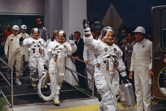 16 Ιουλίου 1969, Αποστολή του ανθρώπου στη Σελήνη