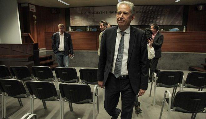 Συνέντευξη τύπου πραγματοποίησε σήμερα το μεσημέρι η πολιτική γραμματεία της σοσιαλιστικής τάσης του ΣΥΡΙΖΑ. Πέμπτη, 28 Σεπτεμβρίου 2017 (EUROKINISSI / ΓΙΑΝΝΗΣ ΠΑΝΑΓΟΠΟΥΛΟΣ)