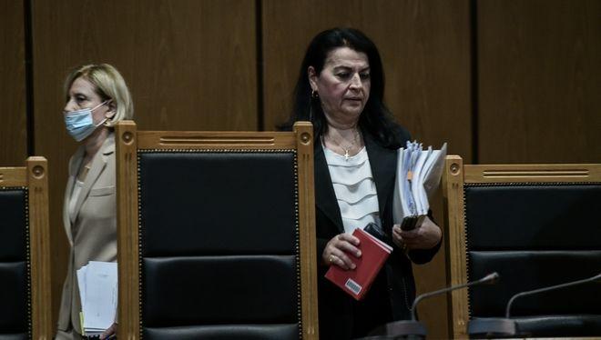 Η Μαρία Λεπενιώτη τη μέρα της ιστορικής απόφασης