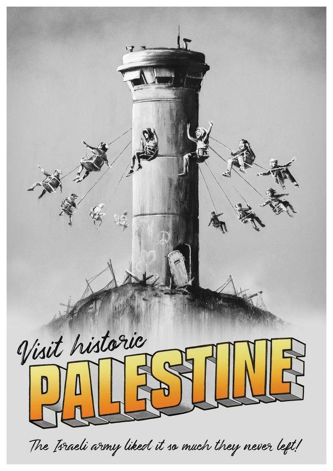 Ο Banksy μοίραζε δωρεάν αφίσες του αλλά η ταυτότητά του έμεινε κρυφή