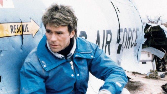MacGyver (ABC) 1985-1992 Shown: Richard Dean Anderson (as MacGyver)