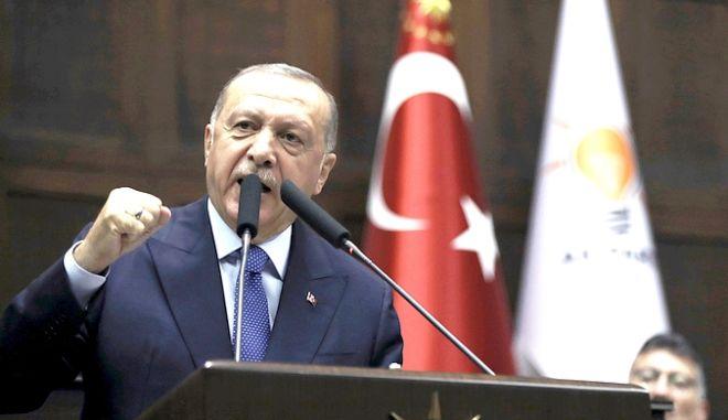 Ο πρόεδρος Ερντογάν
