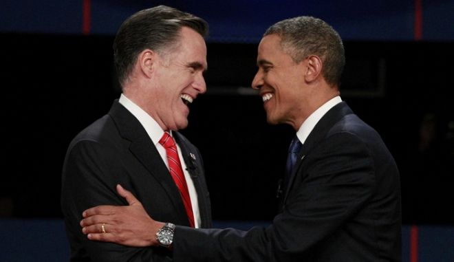 Όταν ο Ομπάμα έκανε chat στο Facebook με τον Ρόμνεϊ