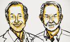 Οι Αμερικανοί οικονομολόγοι Πολ Μίλγκρομ, 72 ετών, και Ρόμπερτ Γουίλσον, 83 ετών, τιμήθηκαν σήμερα με το Νόμπελ Οικονομίας 2020