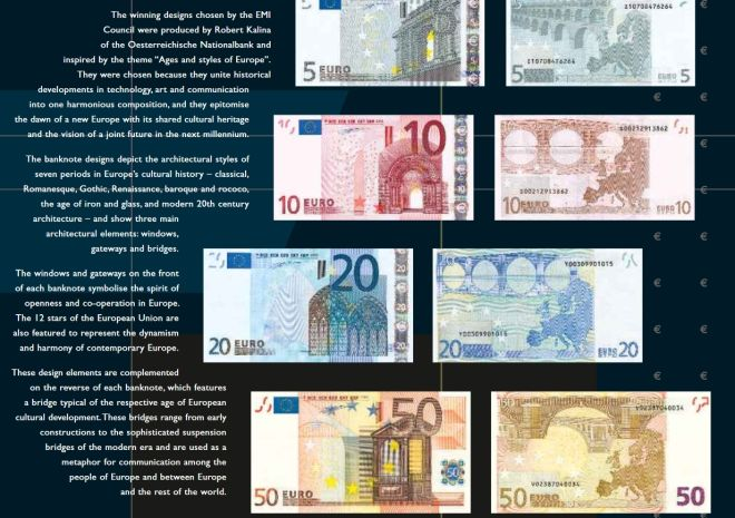 Euro Banknote Design Exhibition