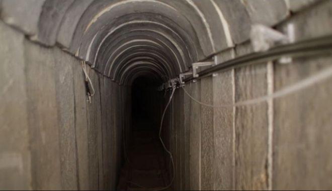 Μεγαλύτερη σήραγγα στη Λωρίδα της Γάζας