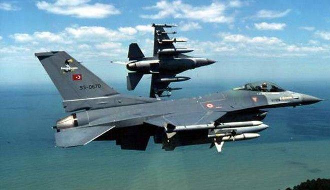 Αναχαίτιση τουρκικών αεροσκαφών στο Αιγαίο
