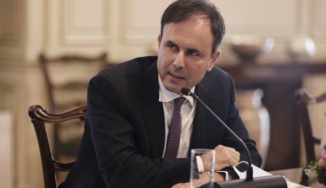 Ο επικεφαλής του Οικονομικού γραφείου του πρωθυπουργού, Αλέξης Πατέλης