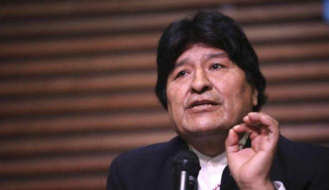 Ο πρώην πρόεδρος της Βολιβίας