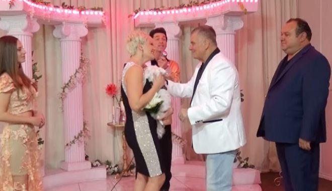 Γιώργος Τράγκας: Ανανέωση γαμήλιων όρκων στο Λας Βέγκας