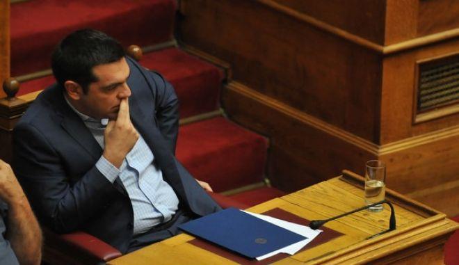 ΑΘΗΝΑ-ΒΟΥΛΗ-η ώρα του πρωθυπουργού στη Βουλή. Ο Αλέξης Τσίπρας θα απαντήσει σε επίκαιρες ερωτήσεις της προέδρου του ΠΑΣΟΚ Φώφης Γεννηματά.(Eurokinissi-ΜΠΟΛΑΡΗ ΤΑΤΙΑΝΑ )