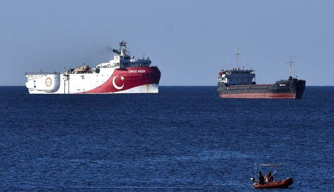 Το πλοίο Oruc Reis