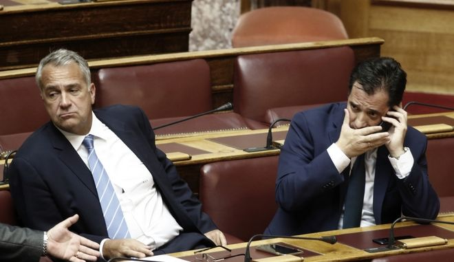 Μάκης Βορίδης και Άδωνις Γεωργιάδης