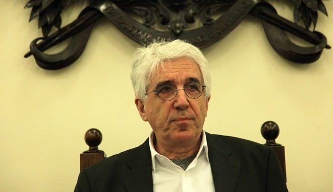 Η Ειδική Κοινοβουλευτική Επιτροπή για τη διενέργεια προκαταρκτικής εξέτασης κατά του πρώην Υπουργού κ. Ιωάννη Παπαντωνίου, για την ενδεχόμενη τέλεση αδικημάτων στο πλαίσιο σύναψης συμβάσεων εξοπλιστικών προγραμμάτων του Υπουργείου Εθνικής Άμυνας. (EUROKINISSI/ ΠΑΝΑΓΟΠΟΥΛΟΣ ΓΙΑΝΝΗΣ)