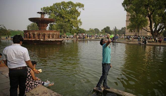 Στιγμιότυπο από το Νέο Δελχί