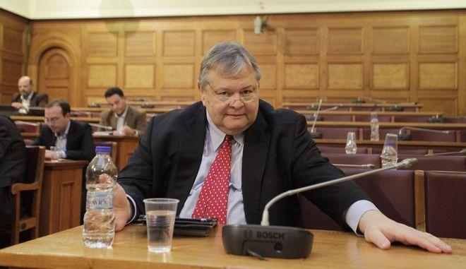 Ακρόαση της Γενικής Επιθεωρήτριας Δημόσιας Διοίκησης, Μαρίας Παπασπύρου και συζήτηση επί των Ετήσιων Εκθέσεων (2014 και 2015), στην Επιτροπή Θεσμών και Διαφάνειας της Βουλής την Πέμπτη 19 Ιανουαρίου 2017. (EUROKINISSI/ΓΙΩΡΓΟΣ ΚΟΝΤΑΡΙΝΗΣ)