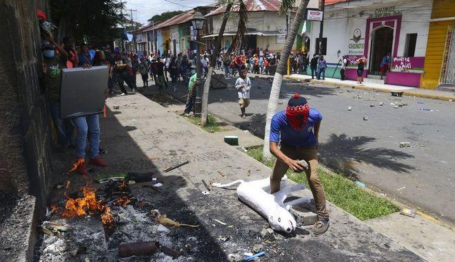 Στους 264 ο αριθμός των νεκρών στις αντικυβερνητικές διαδηλώσεις στη Νικαράγουα