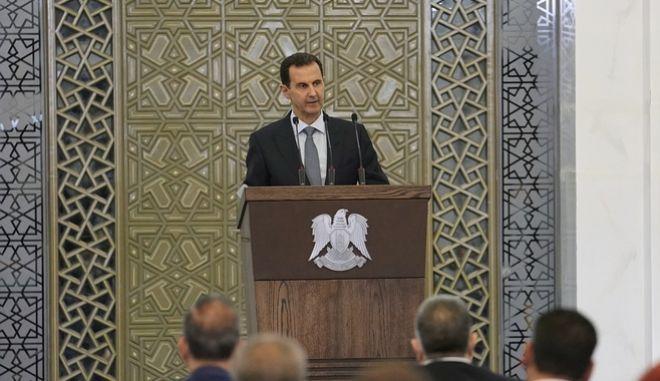 Ο Μπασάρ αλ Άσαντ