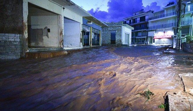 Νέες πλημμύρες στη Μάνδρα