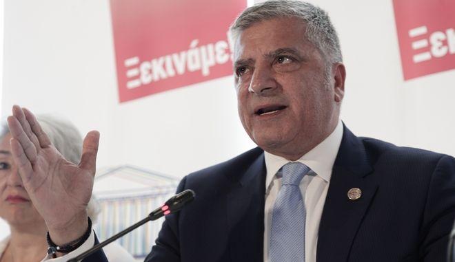 ΑΘΗΝΑ-Ο δήμαρχος Αμαρουσίου Γιώργος Πατούλης για την κίνηση πολιτών «Αθήνα Πρωτεύουσα Ξανά».(Eurokinissi-ΠΑΝΑΓΟΠΟΥΛΟΣ ΓΙΑΝΝΗΣ)