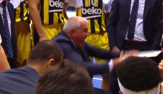 """Ομπράντοβιτς κατά παικτών στο time out: """"Άντε γ@μ...τε, ντροπή σας"""""""