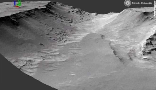 Eικόνες από την κάμερα υψηλής ανάλυσης του σκάφους Mars Reconnaissance Orbiter (MRO) της NASA.
