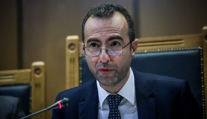 Ο πρόεδρος της Ένωσης Δικαστών και Εισαγγελέων (ΕΔΕ), Χριστόφορος Σεβαστίδης.