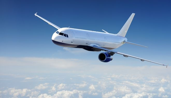 10398457 - airplane in the sky - passenger airliner / aircraft